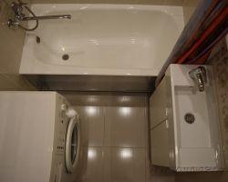 Фото ремонта ванной комнаты: ул. Голавачёва, дом 5