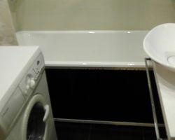 Фото ремонта ванной комнаты: ул. Перерва