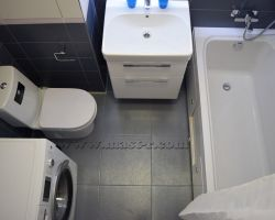 Фото ремонта ванной комнаты: ул. Перерва, дом 62