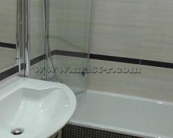 Фото ремонта ванной комнаты: ул. Никулинская