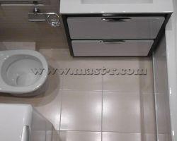 Фото ремонта ванной комнаты: м. Петровско-Разумовская, ул. Софьи Ковалевской