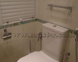 Фото ремонта ванной комнаты: ул. Нижняя Первомайская