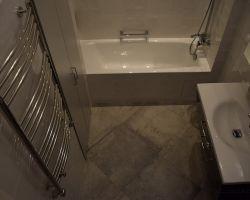 Фото ремонта ванной комнаты: ул.Тверская, 19