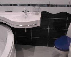Фото ремонта ванной комнаты: Люберцы, Быковское шоссе
