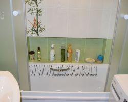 Фото ремонта ванной комнаты: Люберцы, ул. Проспект Победы