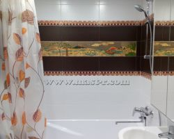 Фото ремонта ванной комнаты: ул. Чечерский проезд, дом 70