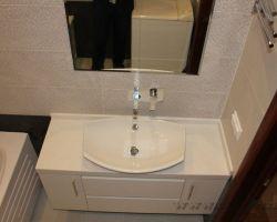 Фото ремонта ванной комнаты: Чечерский проезд, 52