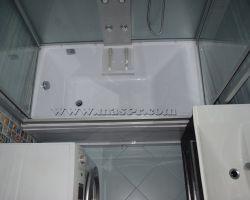 Фото ремонта ванной комнаты: ул. Ботаническая, дом 17
