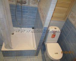 Фото ремонта ванной комнаты: ул. Сокольнический Вал
