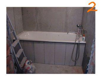 Ремонт ванной комнаты и туалета под ключ — этап №2