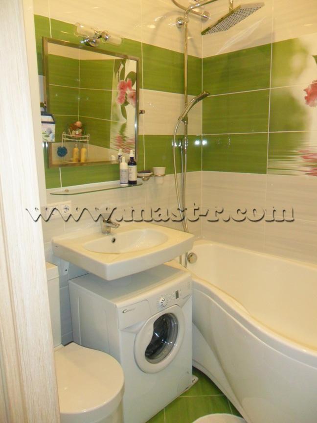 Ремонт в ванной комнате совмещенной с туалетом в хрущевке своими руками