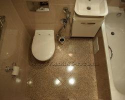 Фото ремонта ванной комнаты: ул. Нижегородская, дом 90