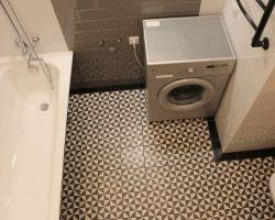Фото ремонта ванной комнаты: ул. Скобелевская, 25