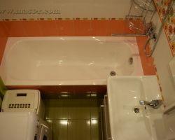 Фото ремонта ванной комнаты: ул. Дыбенко, дом 30