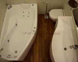 Фото ремонта ванной комнаты: Каширское шоссе, дом 80