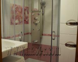 Фото ремонта ванной комнаты: ул. Косинская