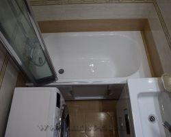 Фото ремонта ванной комнаты: Севастопольский проезд, 13