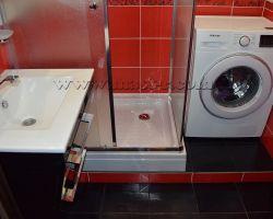 Фото ремонта ванной комнаты: Алтуфьевское шоссе, дом 64В