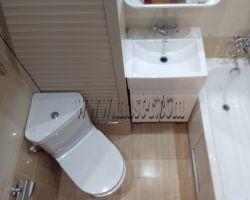 Фото ремонта ванной комнаты: ул. Староалексеевская