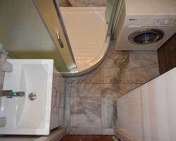 Фото ремонта ванной комнаты: Филёвский бульвар, 39