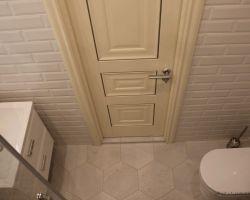 Фото ремонта ванной комнаты: ул.Скобелевская, 25, к.1