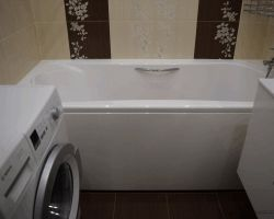 Фото ремонта ванной комнаты: ул. Бутырская, 86Б