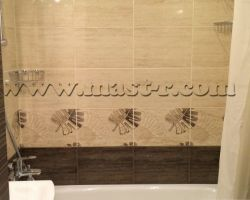 Фото ремонта ванной комнаты: ул. Святоозерская