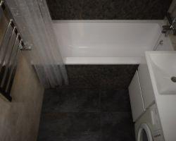 Фото ремонта ванной комнаты: Мирской проезд, 14