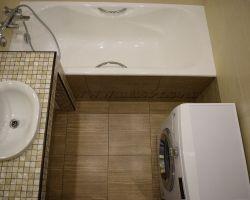 Фото ремонта ванной комнаты: ул. Льва Яшина, дом 9
