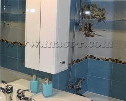 Фото ремонта ванной комнаты: ул. Дубравная, дом 42