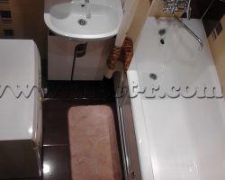 Фото ремонта ванной комнаты: ул. 3-я Владимирская