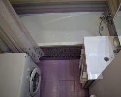 Фото ремонта ванной комнаты: ул. Новокосинская, дом 38