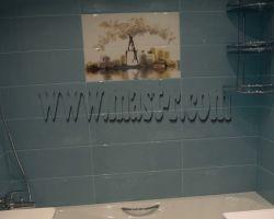 Фото ремонта ванной комнаты: ул Снежная, дом 27