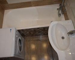 Фото ремонта ванной комнаты: ул. Корнейчука, 41а