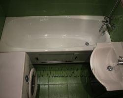 Фото ремонта ванной комнаты: ул. 800-летия Москвы