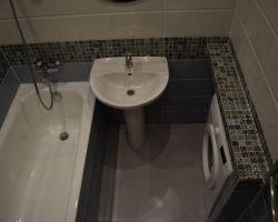 Фото ремонта ванной комнаты: ул. Голубинская