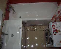 Фото ремонта ванной комнаты: ул. Новокосинская, дом 17