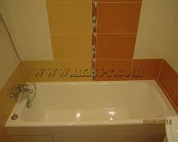 Фото ремонта ванной комнаты: ул. Игарский Проезд