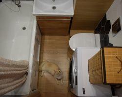 Фото ремонта ванной комнаты: ул. Корнейчука, 38а