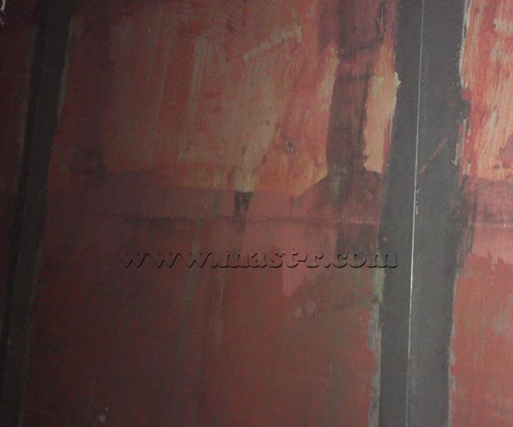 Закреплённые маяки на стене