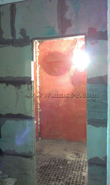 Фото ремонта санузла в процессе