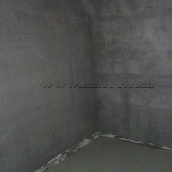 Фото выровненных стен по маякам